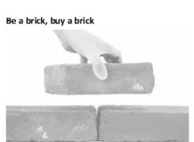 Be a brick, buy a brick2